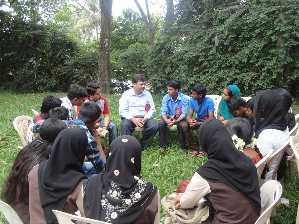 Living Library Circle at Leadership Village