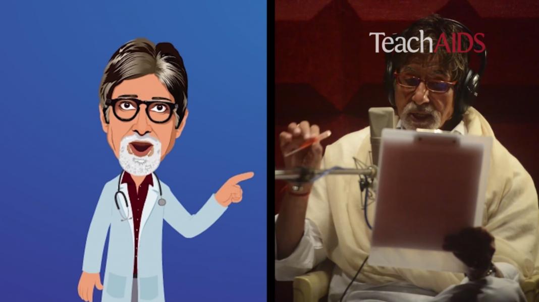 amitabh bachchan TeachAIDS