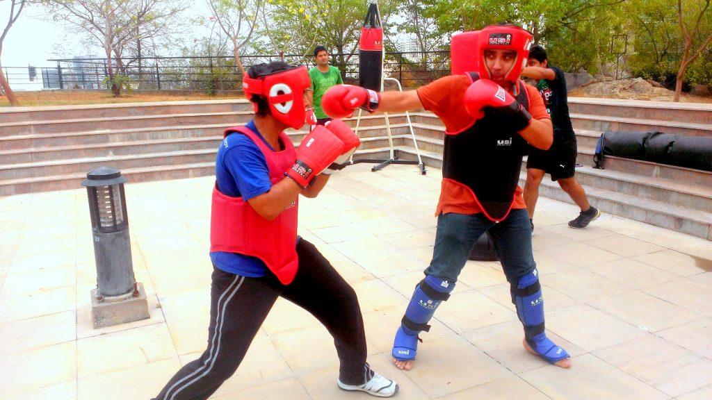 Raveen Singh Kickboxing