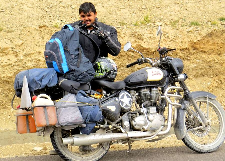 Rajath Shenoy on his expedition