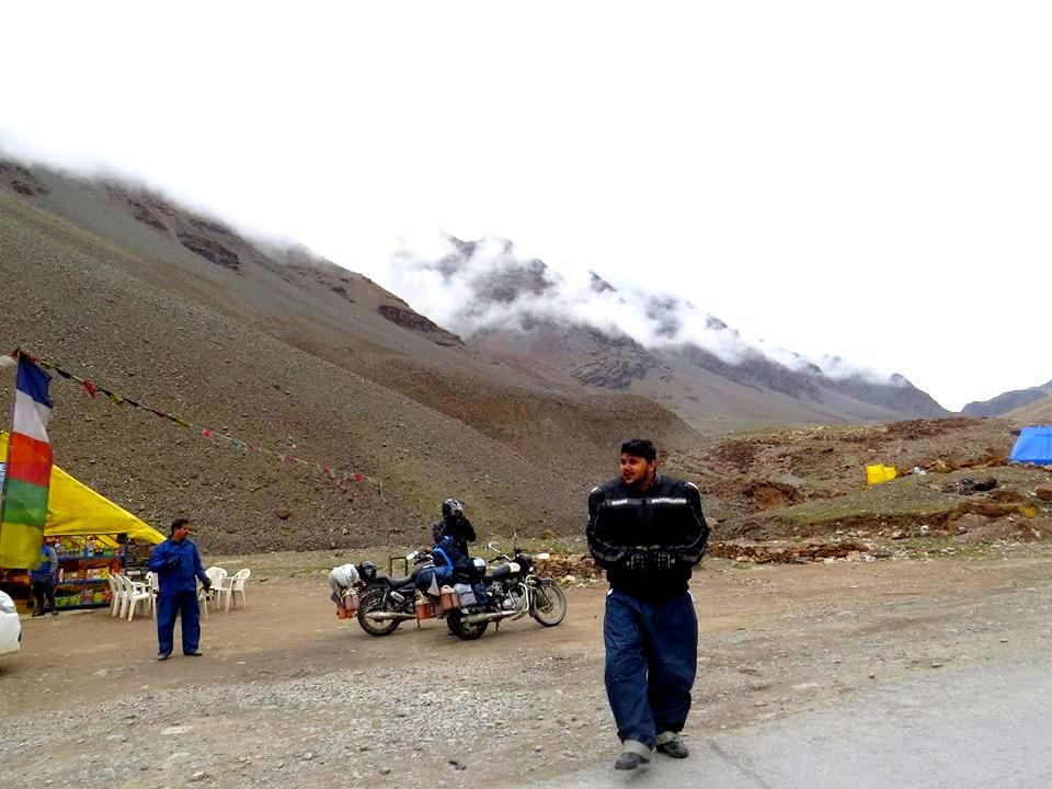 Rajath Shenoy at Ladakh