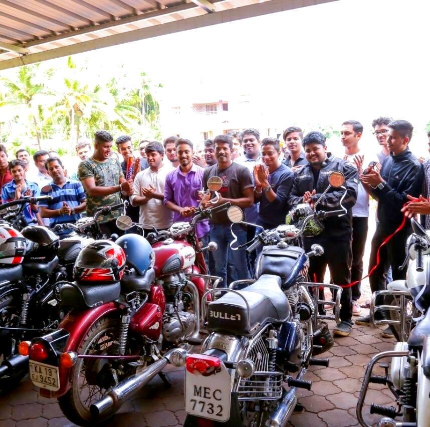 Rajath Shenoy The Royal Enfield Club Karkala