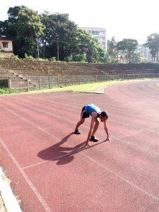 Rakshith Shetty Running