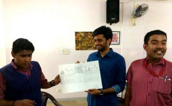Vilas Nayak with Pranav Varma