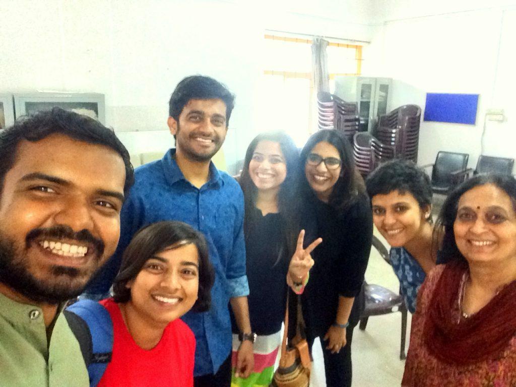 Team KYS with Vilas Nayak