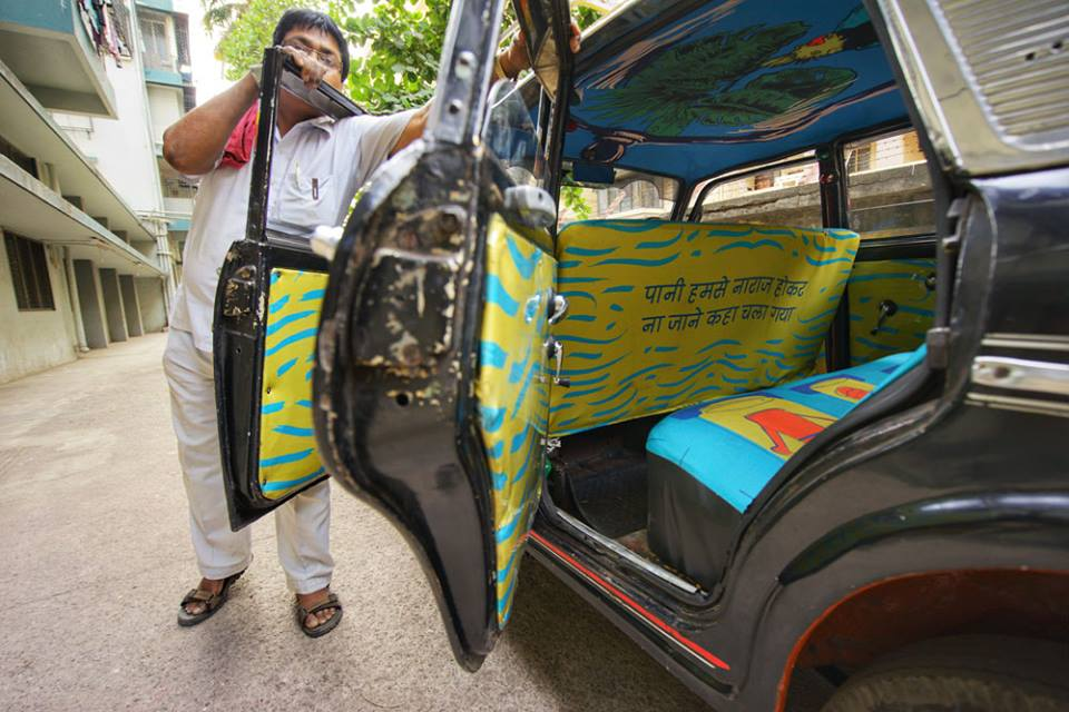 Taxi Fabric by Sanket Avlani