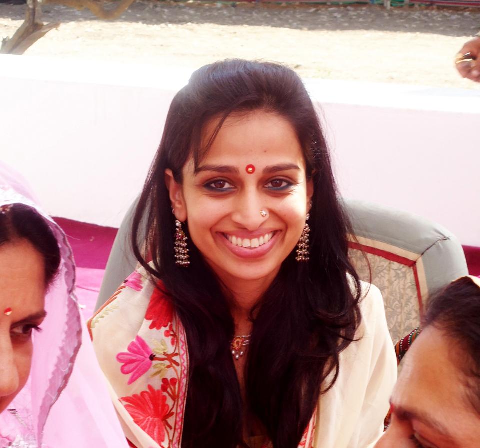 Radhika Rathore in Rajasthan