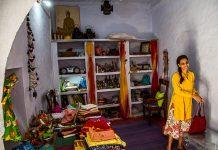 Radhika Rathore in her store