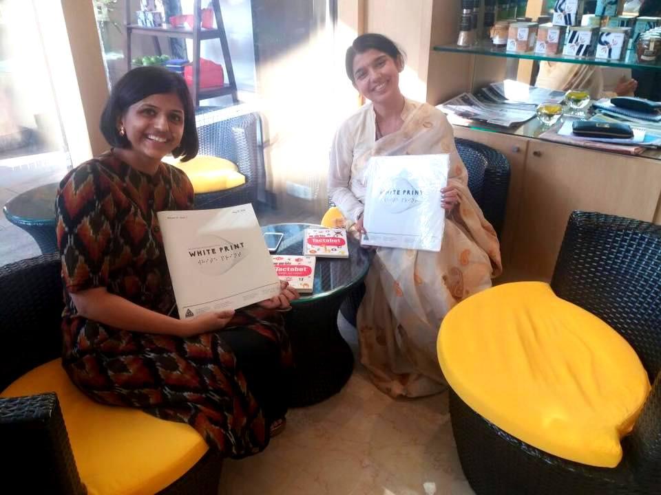 Ratna Joshi with Upasana Makati