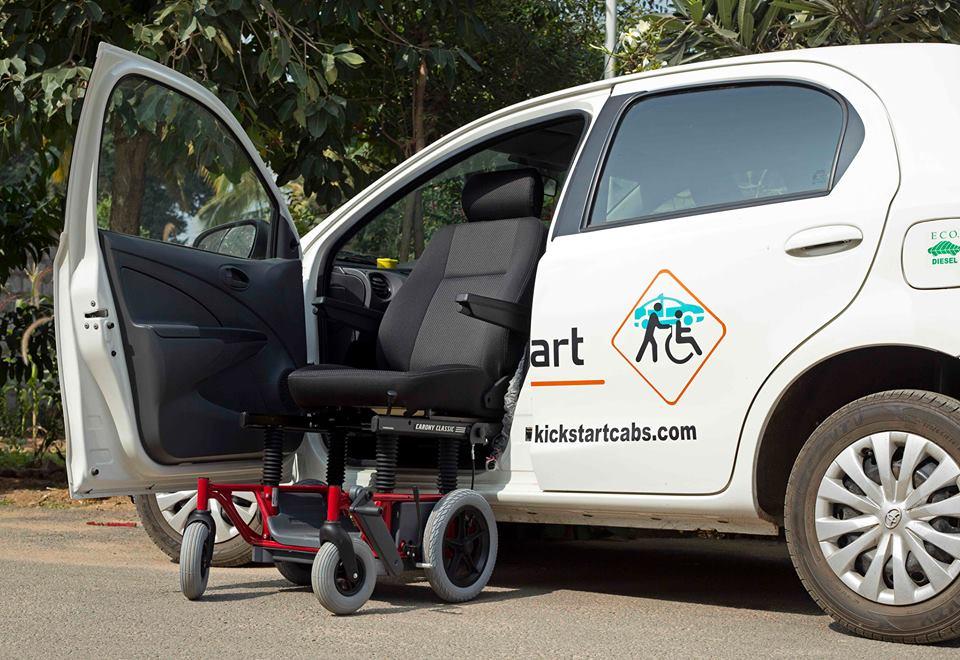 Vidhya Kalyani Ramasubban at Kickstart Cabs